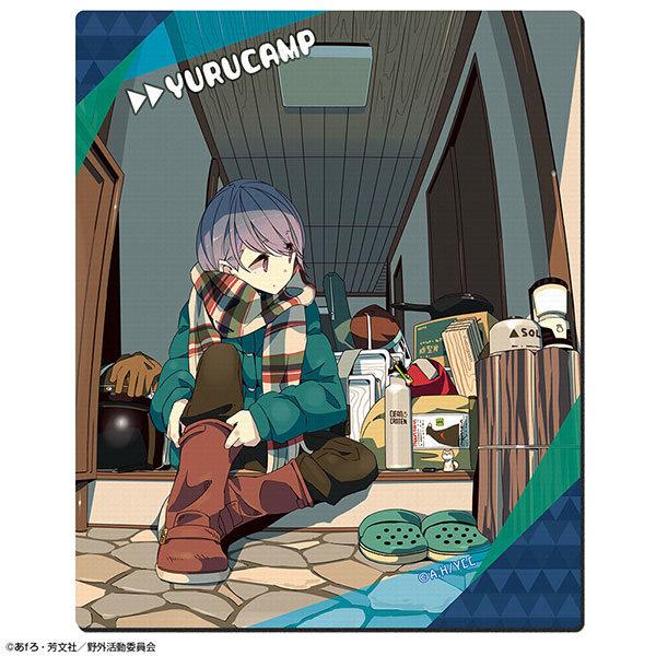 ゆるキャン△ ラバーマウスパッド Ver.2 デザイン01(志摩リン/A)