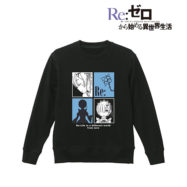 Re:ゼロから始める異世界生活 レム トレーナー レディース XXL