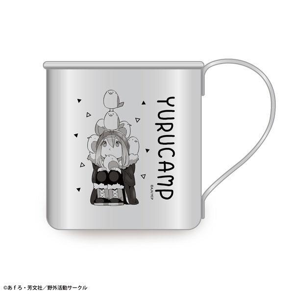 ゆるキャン△ ステンレスマグカップ デザイン01(各務原なでしこ)(再販)[ライセンスエージェント]《発売済・在庫品》